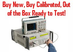 Buy New Test Instrument Calibrated